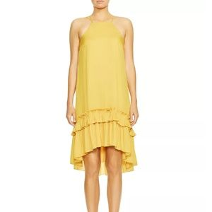 Halston Heritage Georgette Swing Dress